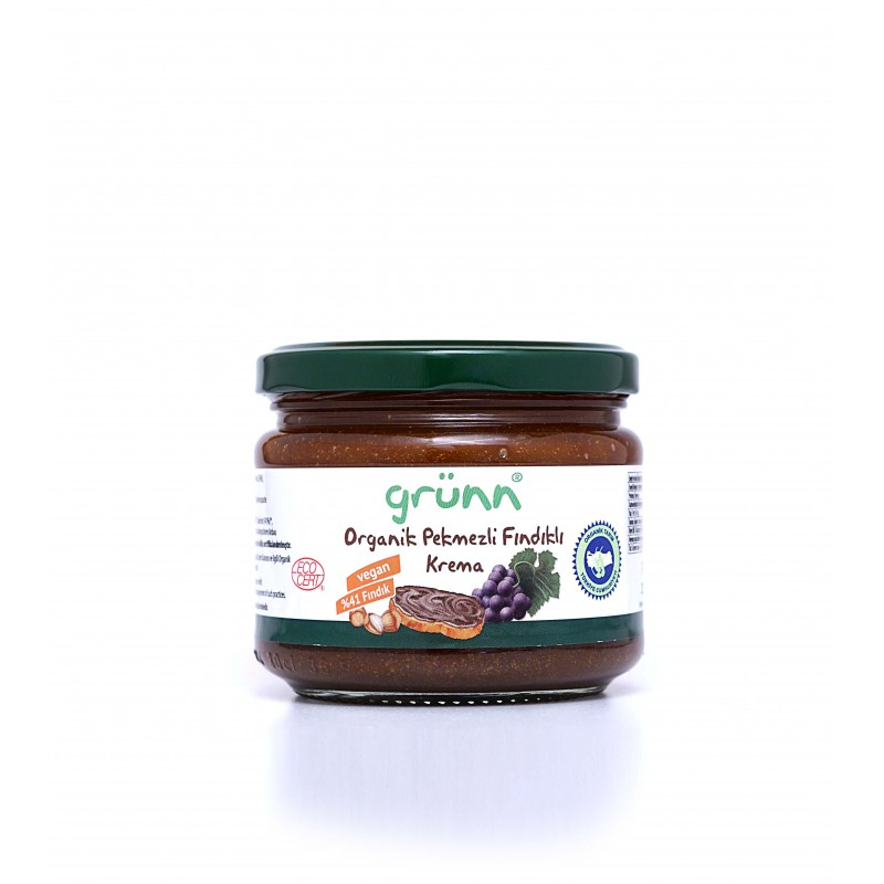 GRUNN ORGANIC GRAPE MOLASSES HAZELNUT CREAM