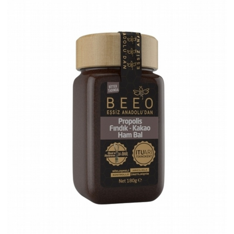 Beeo  Hazelnut + Cocoa + Propolis + Raw honey