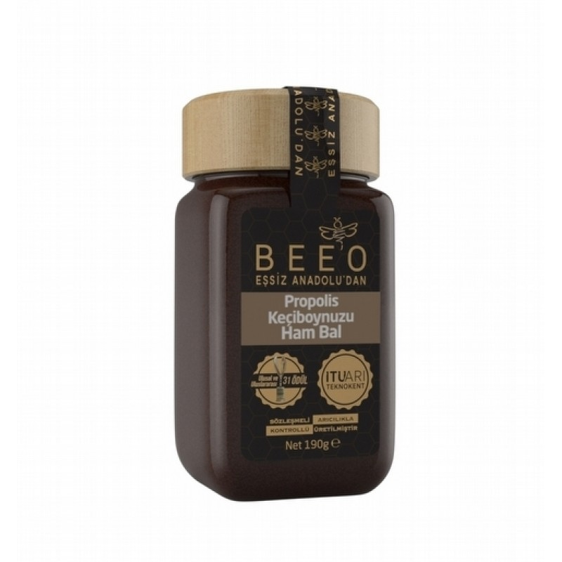 BEEO GOATS + PROPOLIS + RAW HONEY
